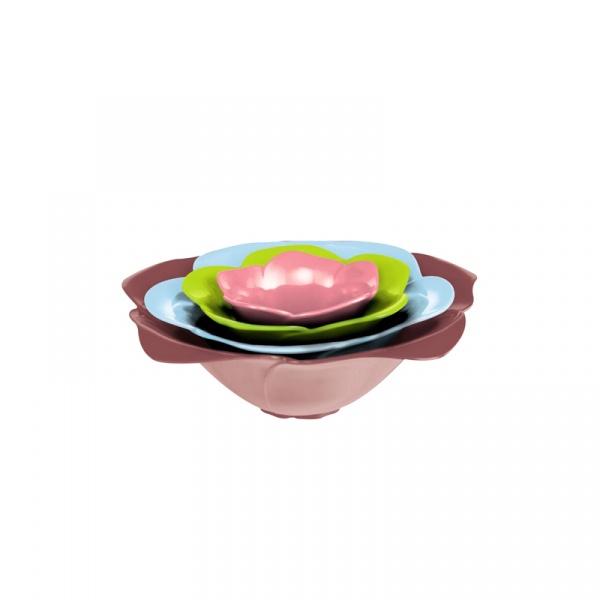 Zestaw 4 misek Rose Chestnut S Zak! Designs 2227-H590