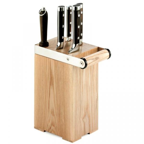 Zestaw 4 sztuk noży kuchennych Legnoart Arsenale - bez opakowania KS-1(1)