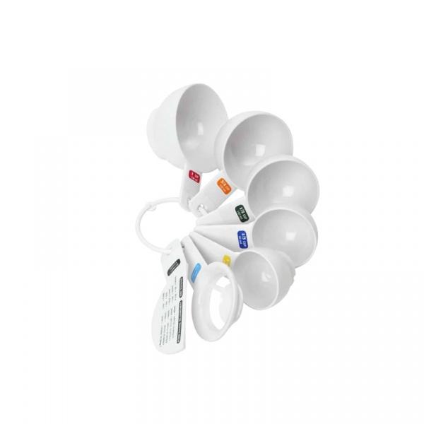 Zestaw 5 miarek z separatorem do jajek 60-240 ml Swift DX-17840959