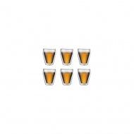 Zestaw 6 szklanek Titlis Bodum 0,25l przezroczysty