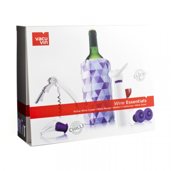 Zestaw akcesoriów do wina Vacu Vin 6 elementów VV-6889860