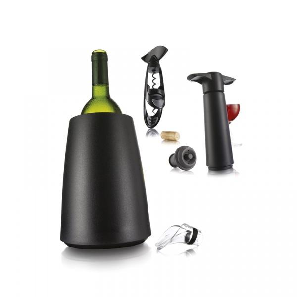 Zestaw akcesoriów do wina Vacu Vin 7 elementów VV-3889160