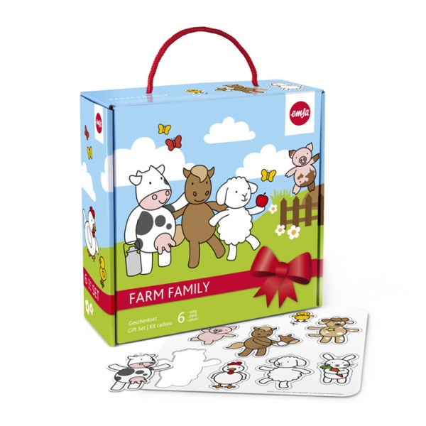 Zestaw dla dzieci 6 cz. EMSA Farm Farmily EM-509096