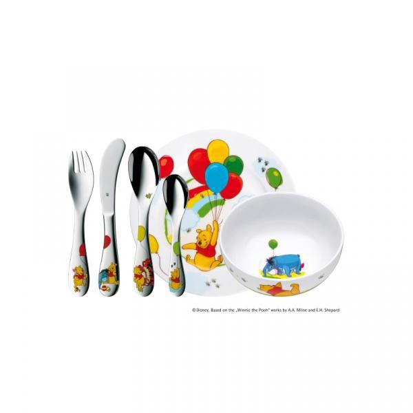 Zestaw dla dzieci 6 częściowy WMF Kubuś Puchatek 1283509964