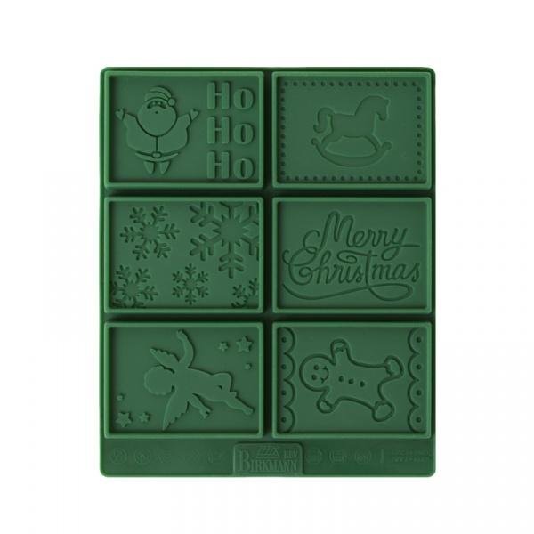 Zestaw do ciasteczek maślanych PETIT POESIE CHRISTMAS Birkmann zielony 144 217