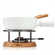 Zestaw do fondue 1 l Boska Bianco biały