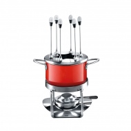Zestaw do fondue Silit Energy red
