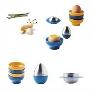 Zestaw do gotowanych jajek Mastrad wielokolorowy