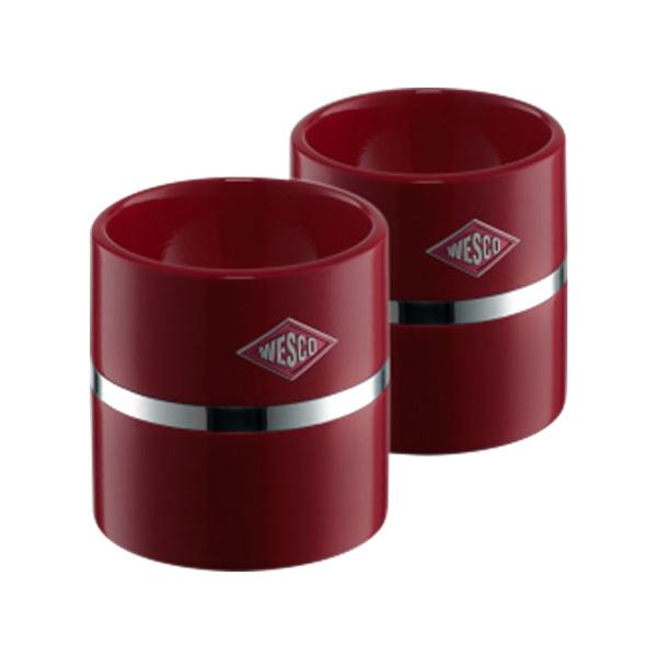 Zestaw do jajek 2 szt. Wesco rubin W-322864-58