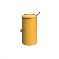 Zestaw do kawy Loveramics Bond żółty