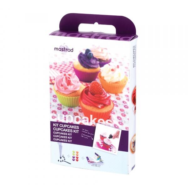 Zestaw do muffinek i cupcake'ów Mastrad + przepisy gratis MA-F44060