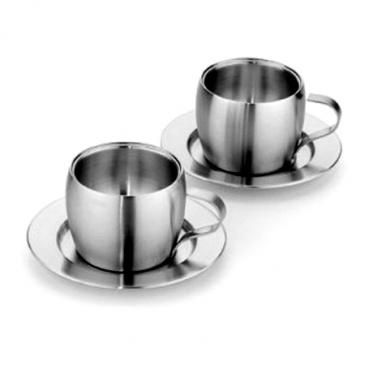 Zestaw dwóch filiżanek Tramontina Kaffee