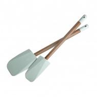 Zestaw dwóch szpatułek silikonowych Jamie Oliver miętowe