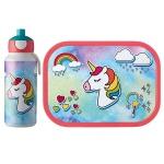Zestaw dziecięcy bidon i lunchbox Campus Unicorn 107410165377