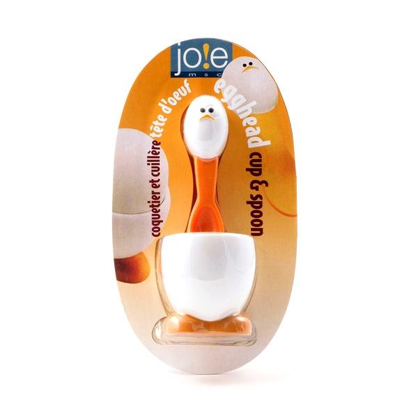 Zestaw kieliszek + łyżeczka do jajek MSC International Gadgets MS-96074