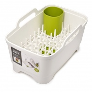 Zestaw kuchenny 3 elementy Joseph Joseph Wash&Drain biało-zielony