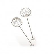 Zestaw łyżek do fondue 6x22,5 cm Kela srebrny