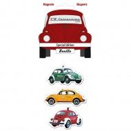 Zestaw magnesów Special 6x4,5x0,3 cm BRISA VW BEETLE wielokolorowe