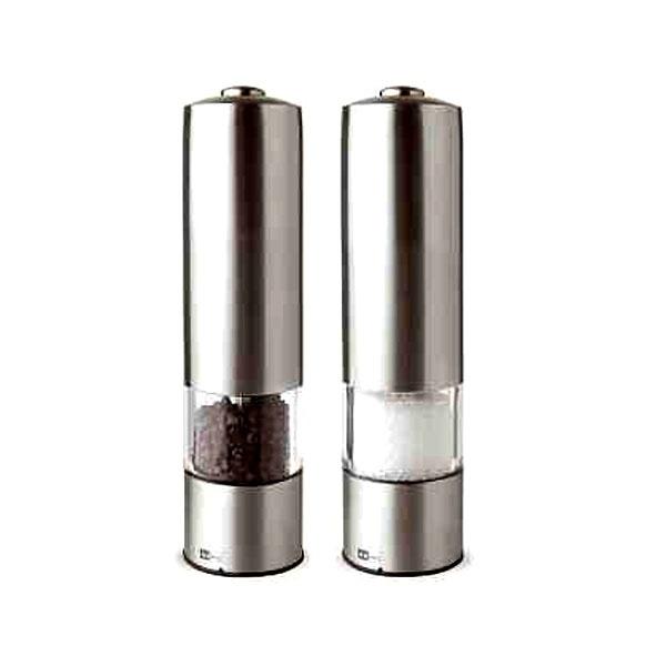 Zestaw młynków elektrycznych do soli i pierzu 19 cm AdHoc Profi A-EP04