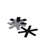 Zestaw podkładek do przechowywania naczyń 39 cm Kela szaro-czarny