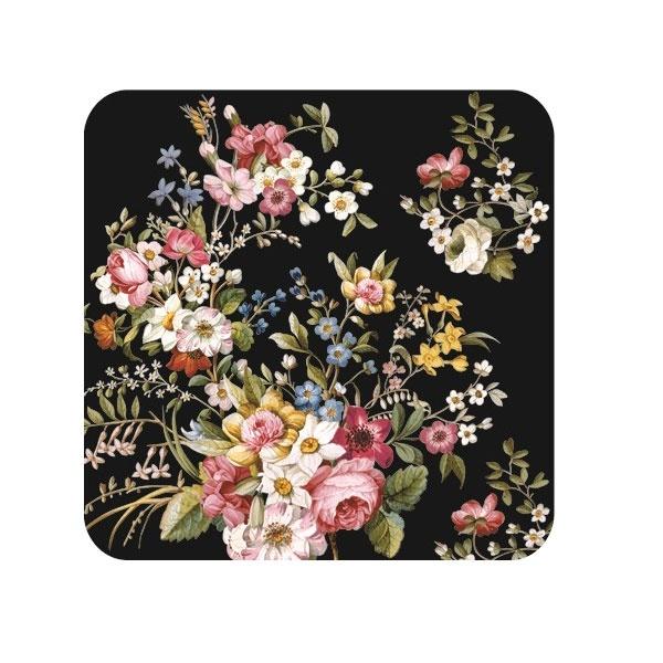 Zestaw podkładek korkowych 6szt 10,5x10,5cm Nuova R2S Blooming Opulence 952 BLOB