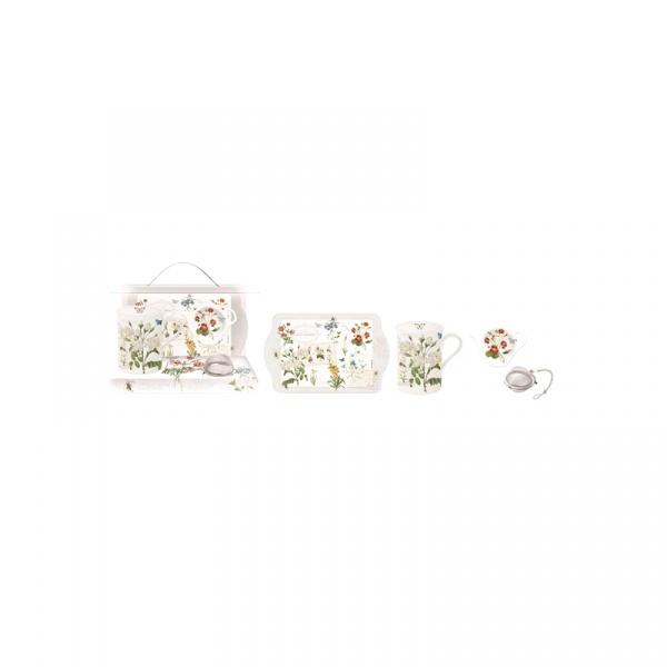 Zestaw prezentowy 250ml Nuova R2S Romantic polne kwiaty 306 NATU