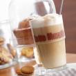 Zestaw szklanka + łyżeczka do Latte x2 Leonardo Solo 042555