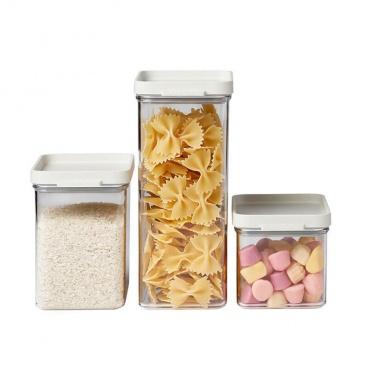 Pojemniki kuchenne zestaw 3szt. Omnia white 106400032500