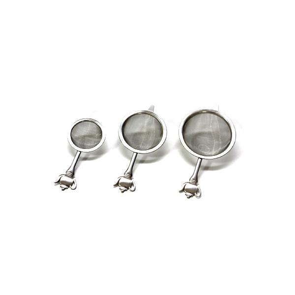 Zestaw trzech sitek do zaparzania herbaty Kuchenprofi KU-1045012800