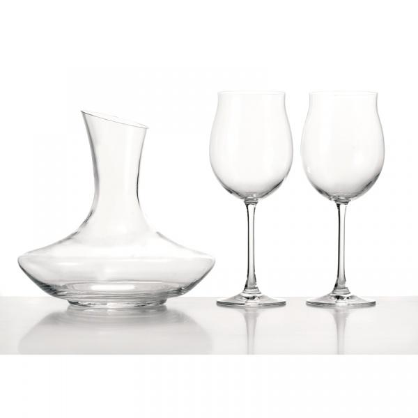 Zestaw trzyczęsciowy do wina czerwonego Leonardo Trio 020564