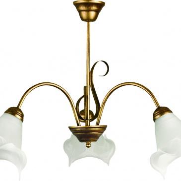 Żyrandol Ada 3 Lampex 505/3 B+Z
